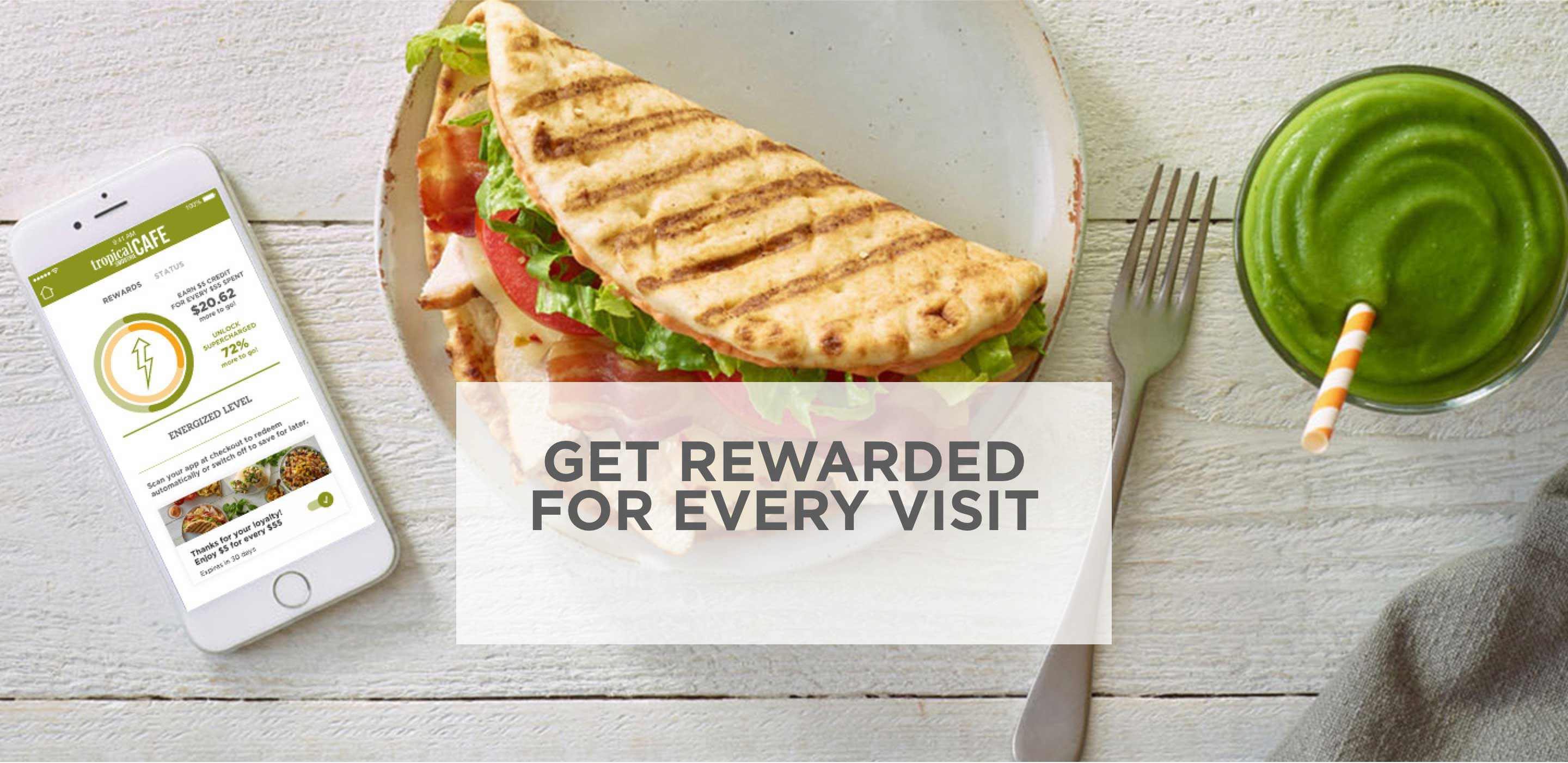Get Rewarded for 