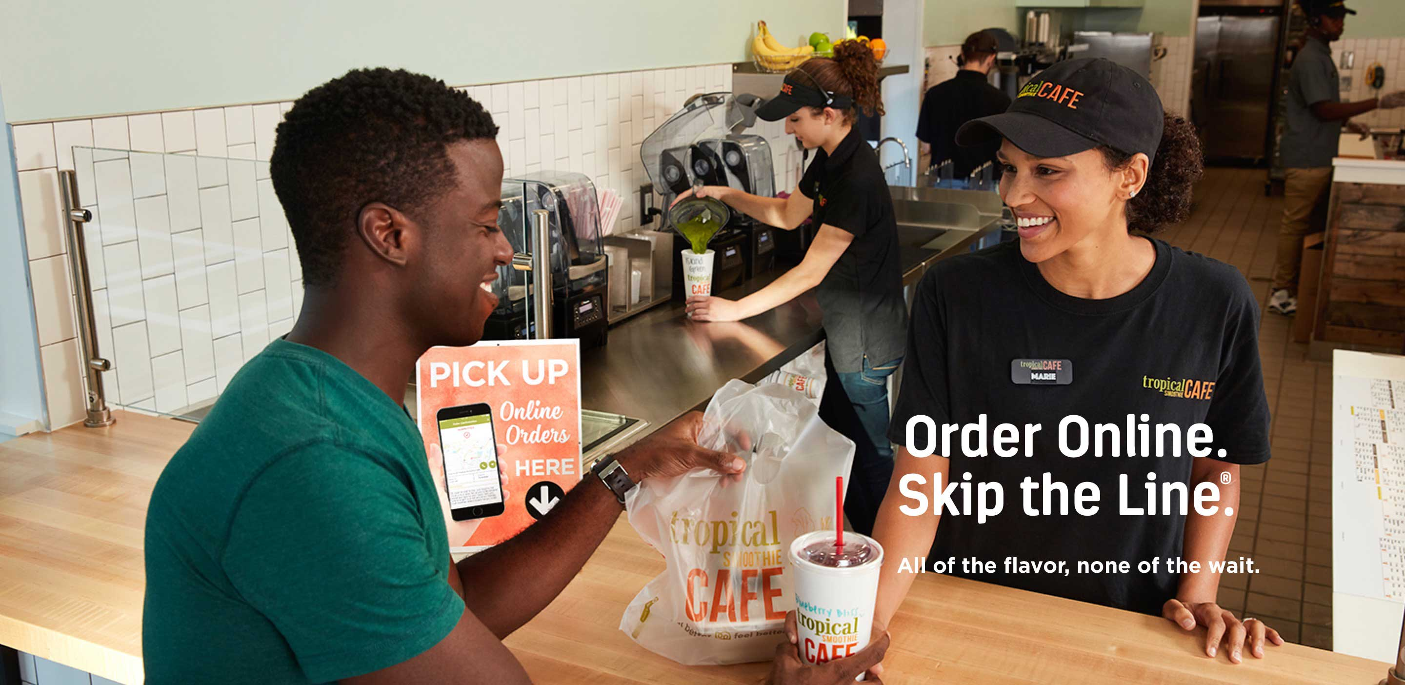 Order Online.<br />Skip the Line.<sup>®</sup>