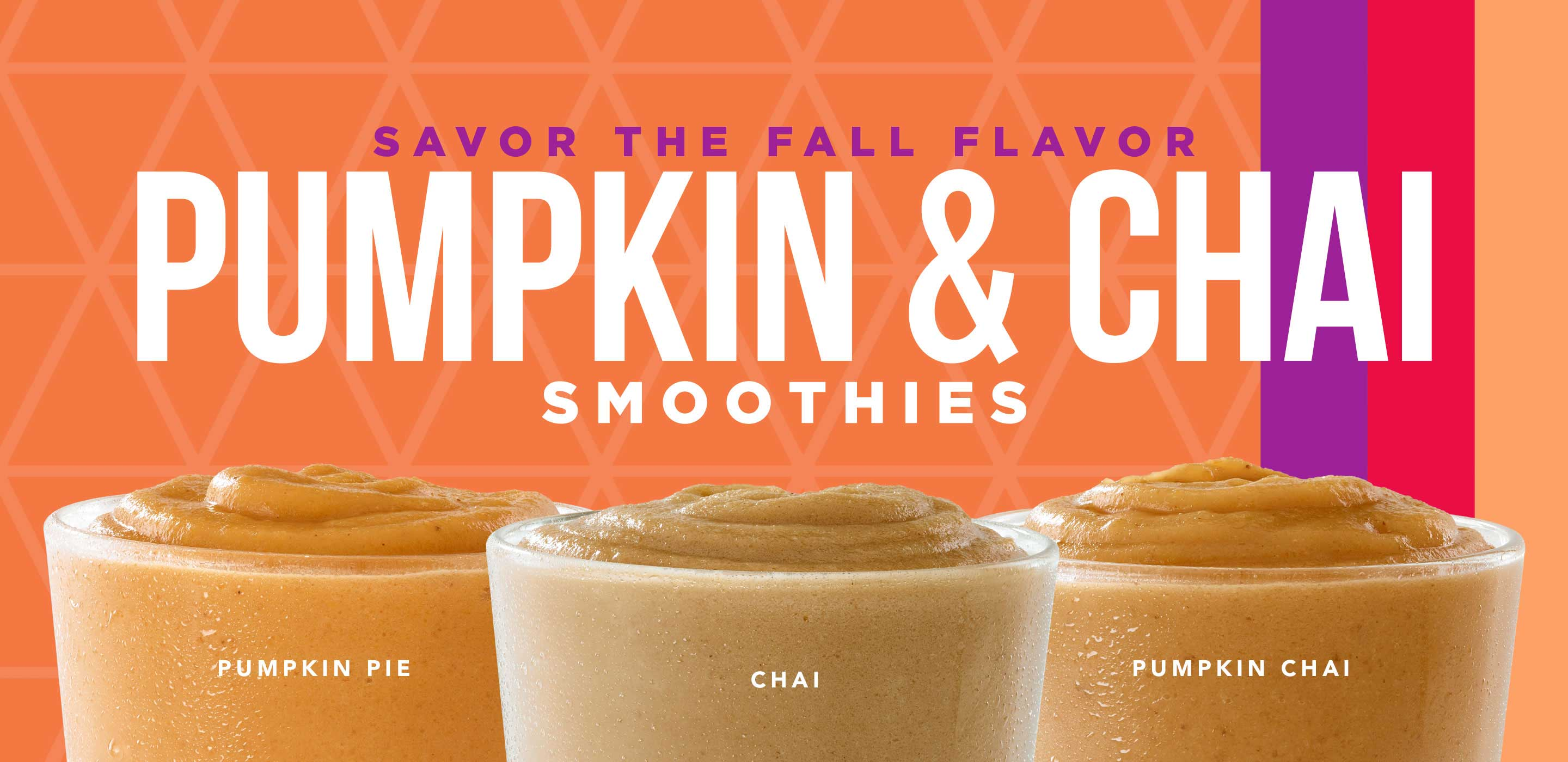 Pumpkin & Chai Smoothies