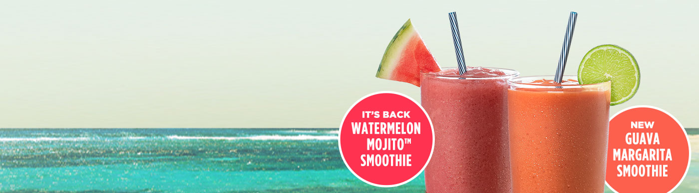 It's Back! Watermelon Mojito™ Smoothie | New Guava Margarita Smoothie
